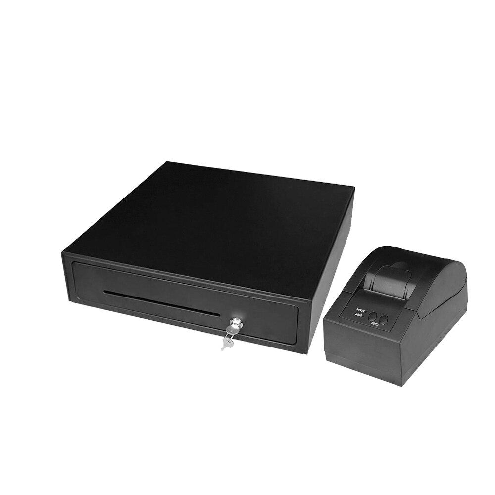 Бесплатная доставка POS машина высокое качество периферийные продукты высокое качество быстрая работа денежный ящик и принтер EK410/5870