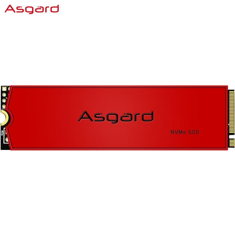 Asgard AN3 плюс красный серии M.2 ssd M2 512 Гб PCIe NVME 512 ГБ 1 ТБ 2 ТБ твердотельный накопитель 2280 внутренний жесткий диск для ноутбука Кэш