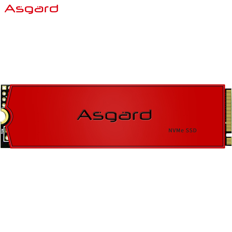 Asgard AN3 RED SERIES M 2 ssd M2 512gb PCIe NVME 512GB 1TB Solid State Drive 2280 Internal Hard Disk hdd for Laptop with cache