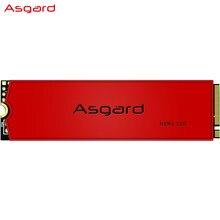 Asgard — AN3 RED SERIES Disque dur interne M2 NVME, 1 To, 512 Go, taille 2280mm à brancher sur le port PCIe, avec son cache protecteur