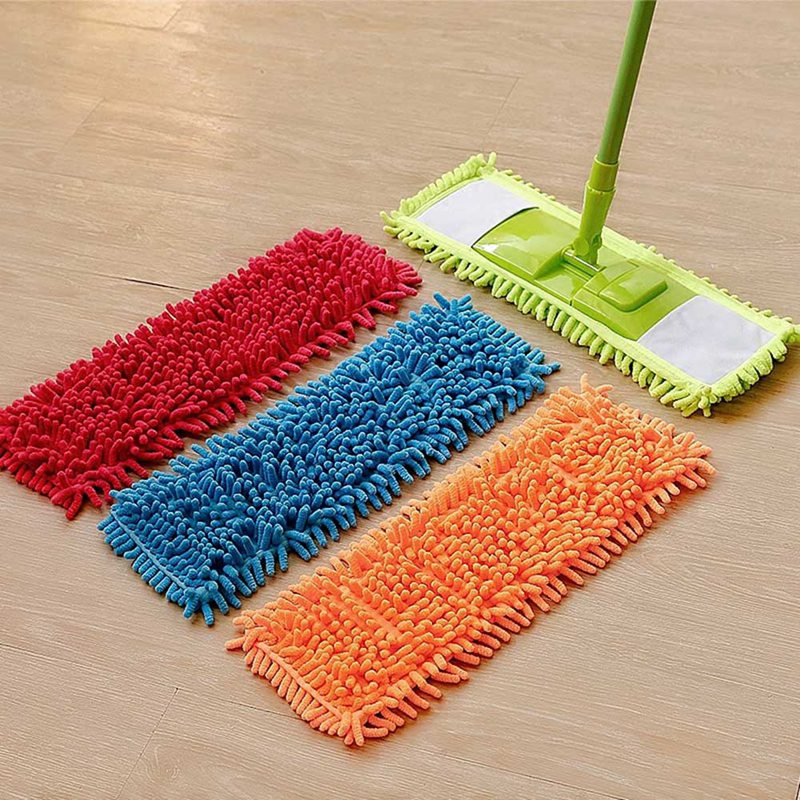 Replacement Mop Cloth Household Floor Cleaning Mops head Mop Head Home Dust Refill Reusable Microfiber Pad For Spray Mop
