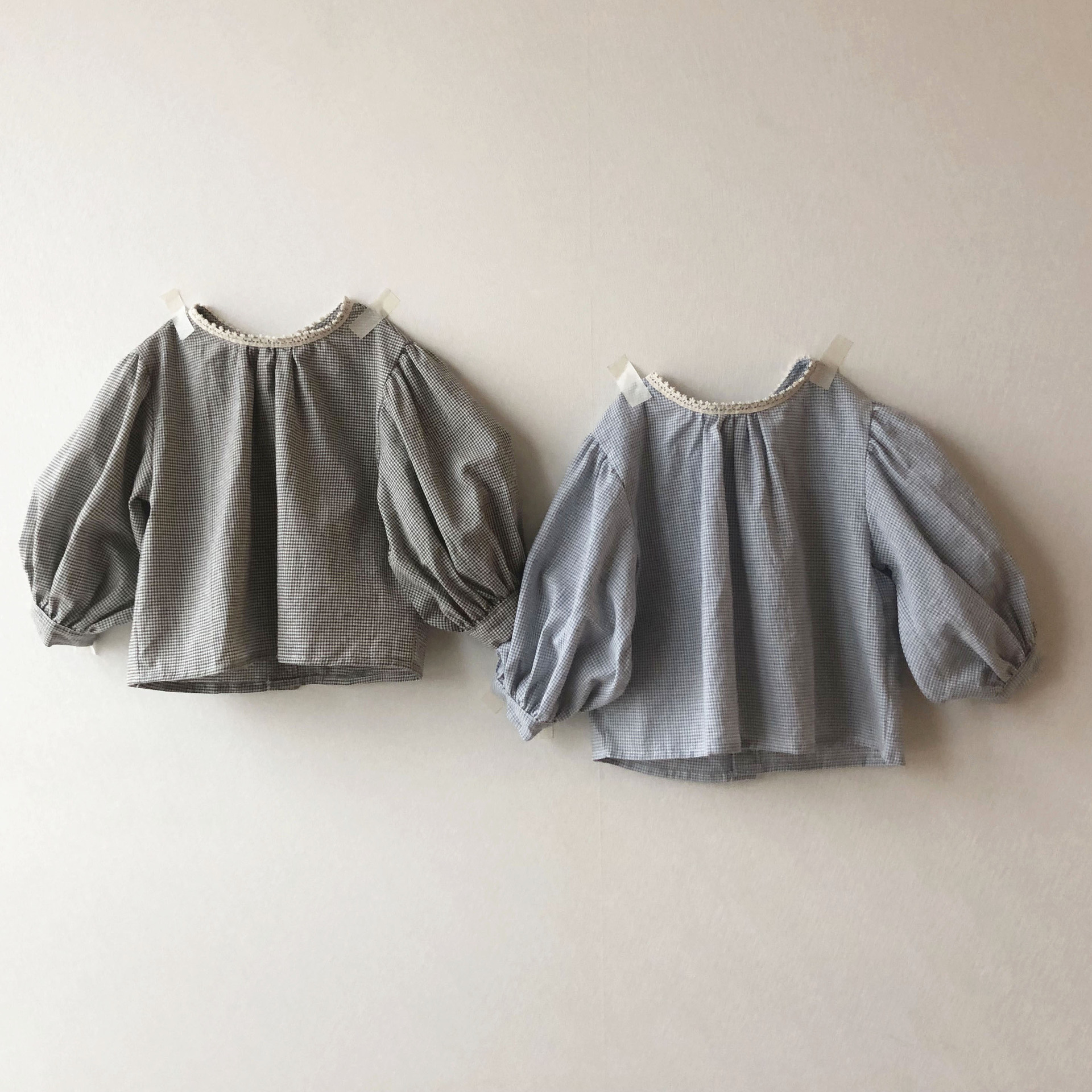 2020 Spring And Summer Childrens Wear Girls Korean Children  Sleeve  Shirt Tops Long Sleeve Shirt