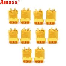 5Pair/lot Amass XT90+ Plug Connectors Male Female For RC Model Battery