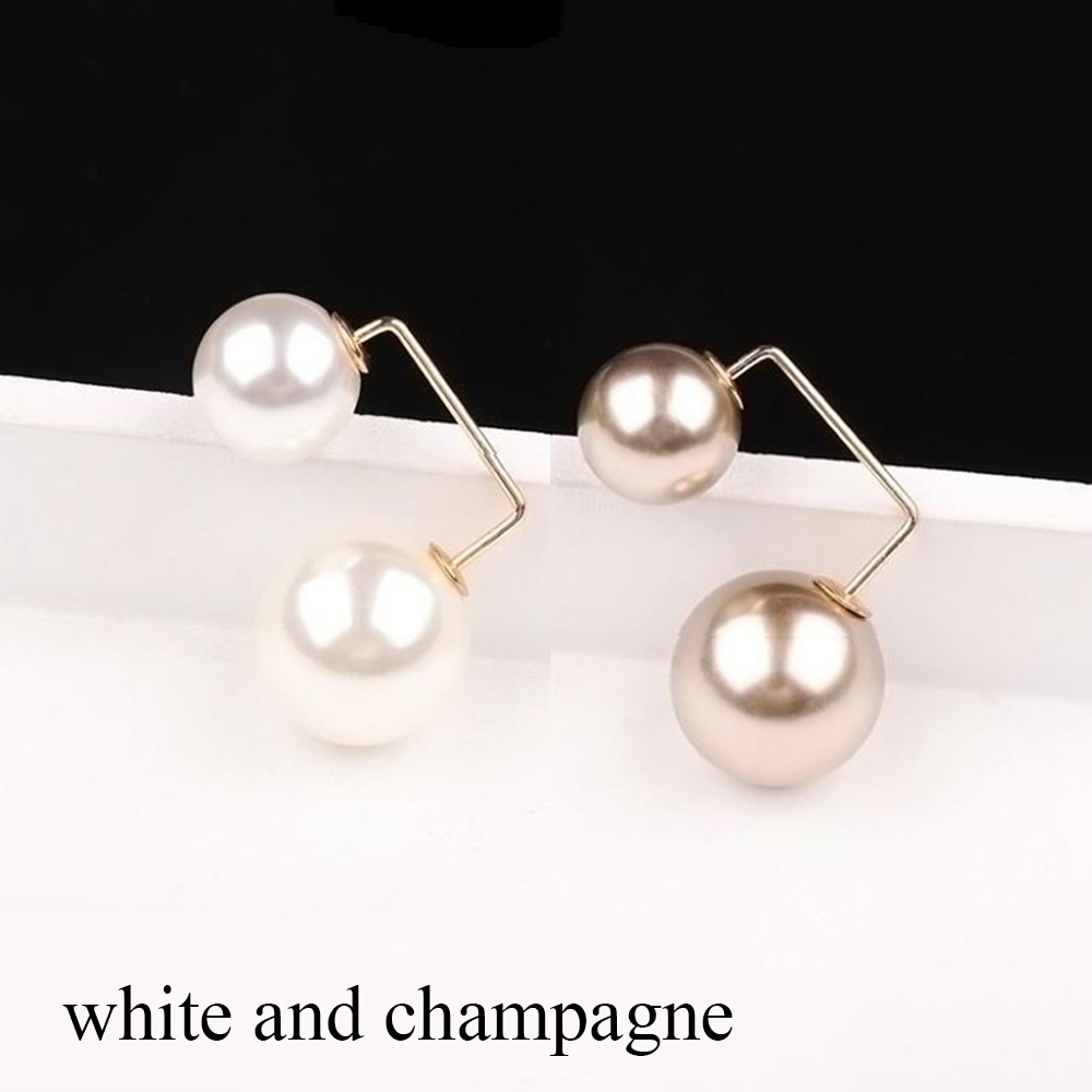white and champagne