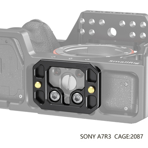Image 3 - SmallRig Arca Type Quick Release Plate for SmallRig Cage Tripod Plate   2389