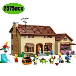 16005 Kwik-E-Mart Симпсоны модель дома Строительные Блоки Кирпичи совместимы с Lepining 71006 71016 игрушки подарок для детей