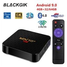 Android 9.0 TV Box MX10 Plus Allwinner H6 4GB 64GB 2.4G/5G W
