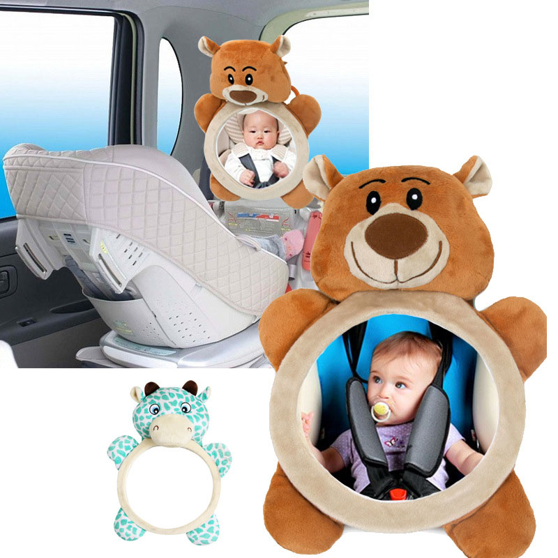 Baby Mirror Car Back Seat Cover for Infant Child Rear Ward Safety View Toy Gifts