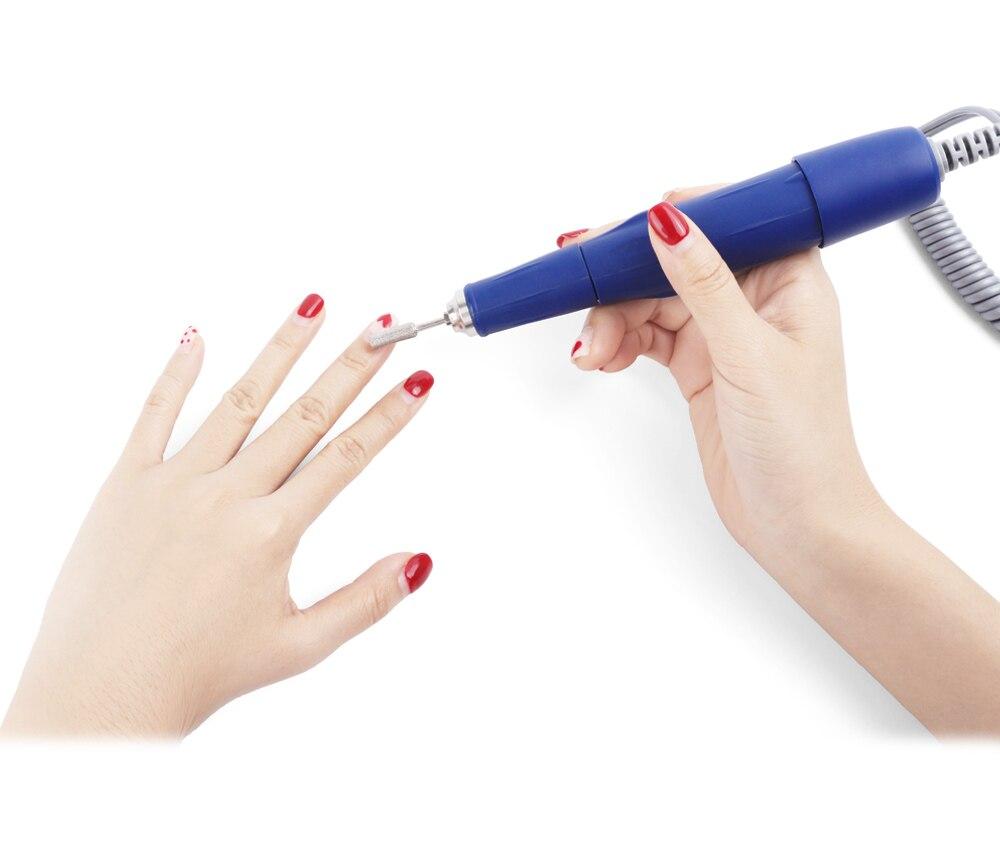 elétrica forte do prego modelo pedicure manicure