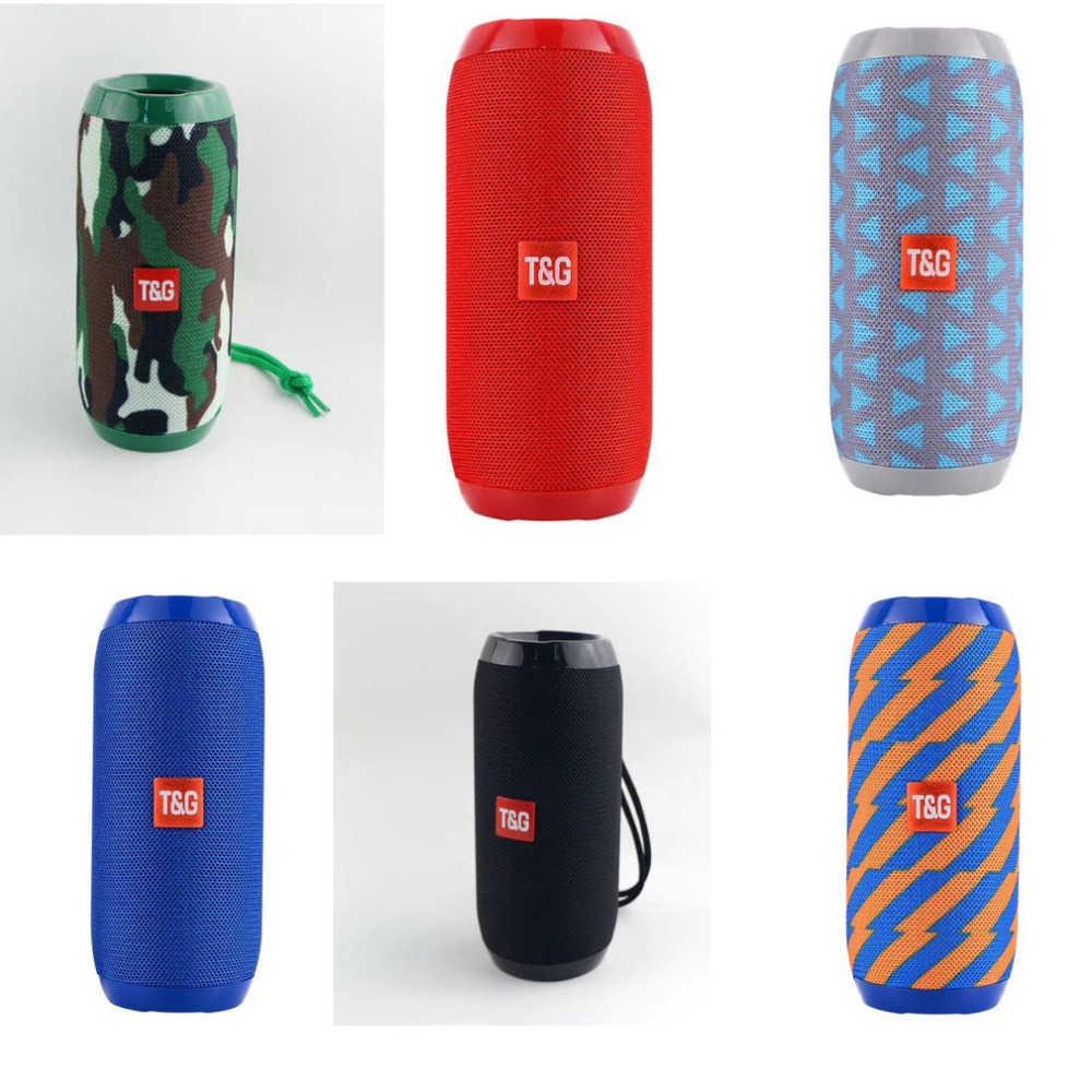 Bluetooth Speaker Outdoor Mini Nirkabel Speaker Multifungsi Tahan Air Portable Subwoofer Stereo Bass untuk Ponsel Kotak Suara