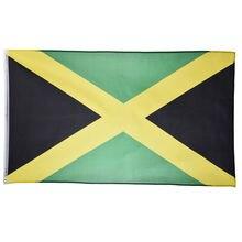 Национальный флаг Ямайки 90*150 см для празднования футбольной игры/деятельности/офиса/домашнего флага 14*21 см 5 шт