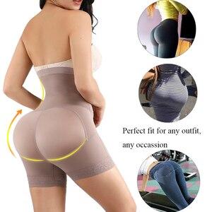 Image 3 - HEXIN الصدر الدانتيل بعقب رافع عالية مدرب خصر بذلة مفصلة لشكل الجسم النساء Fajas ملابس داخلية للتنحيل مع البطن تحكم سراويل داخلية