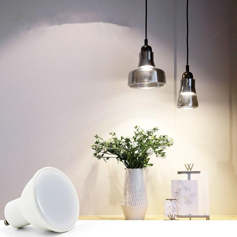 Купить с кэшбэком Led Bulb Cob Spotlight GU10 MR16 12V 220V 230V 240V Nature White Natural Light 4000k White 6500k Warm White 3000k Lamp 6W