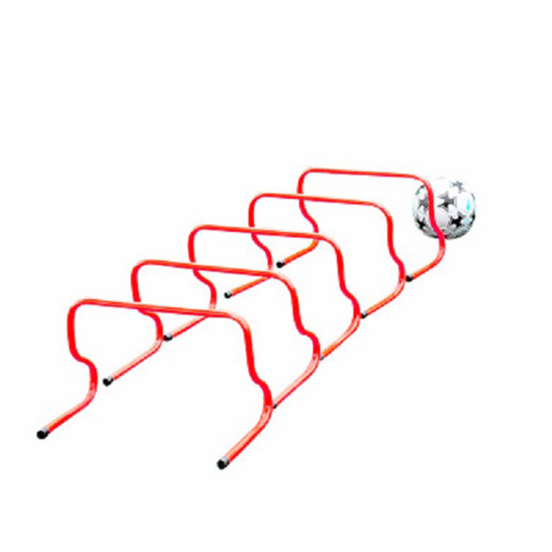 5pcs Football Gaelic Hurdle Hurdles Training Practise Equipment Barriers Frame Soccer Obstacle Rack Soccer Training Accessories