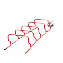 5 pces gaélico obstáculo obstáculos treinamento equipamento de prática barreiras quadro rack de obstáculos de futebol acessórios de treinamento de futebol