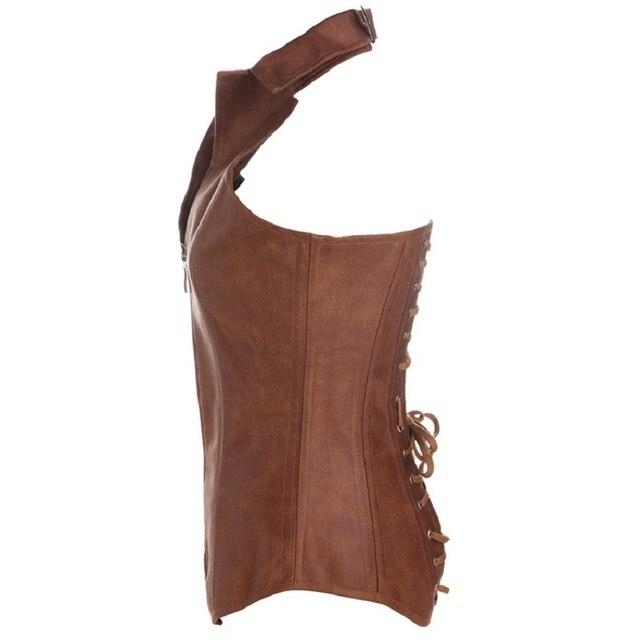 Фото женский корсет в стиле стимпанк бюстье длинные overbust выше цена