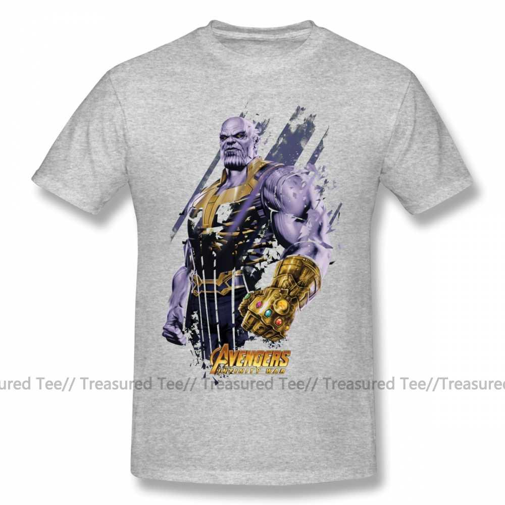 Thanos T Shirt Thanos Hancur Grafis 1 T-shirt Kapas Pria Tee Kemeja Lengan Pendek Besar Grafis Lucu Pantai Tshirt
