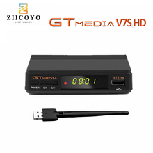 GTMEDIA receptor de Tv satélite V7S, Freesat V7, Full HD, decodificador DVB S2, sin aplicación incluida