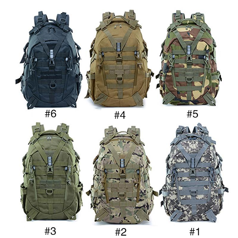 Outdoor Molle Military Tactical 900D Nylon Backpack 25L Hiking Trekking Camping Outdoor Bag Hunting Camouflage Bag