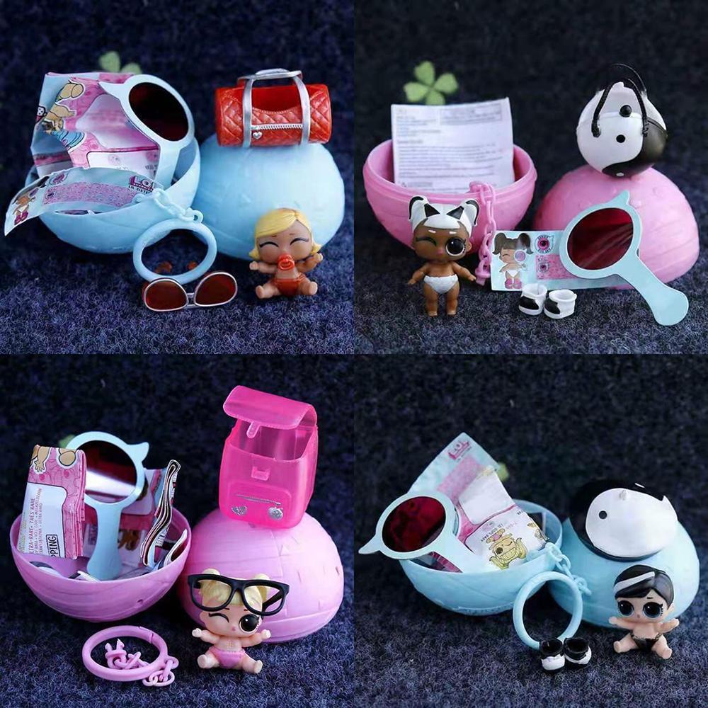 100% Genuine Lil Sisters Blind Box Lol Surprise Original Child Girl Princess Toy Gift
