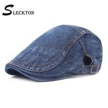Sleckton хорошее качество ковбойские Шапки береты кепка мужские