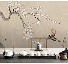 Большой оригинальный фон для фотосъемки в новом китайском стиле
