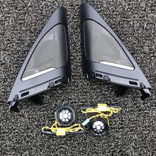 Car tweeters for BMW F34 3GT series high quality hifi treble speaker audio trumpet horn stickers trim speaker plus cover car center console speaker cover for bmw f20 series high quality loudspeaker horn casing trim dashboard audio horn stickers trim