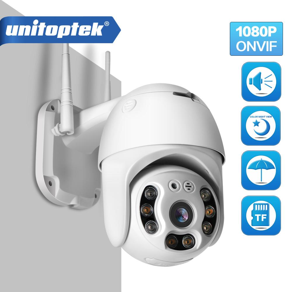 HD 1080P Wifi PTZ IP Camera Outdoor Full Color Night Vision IR 30m Wireless Home Security Camera Humanoid Detection P2P ICSee
