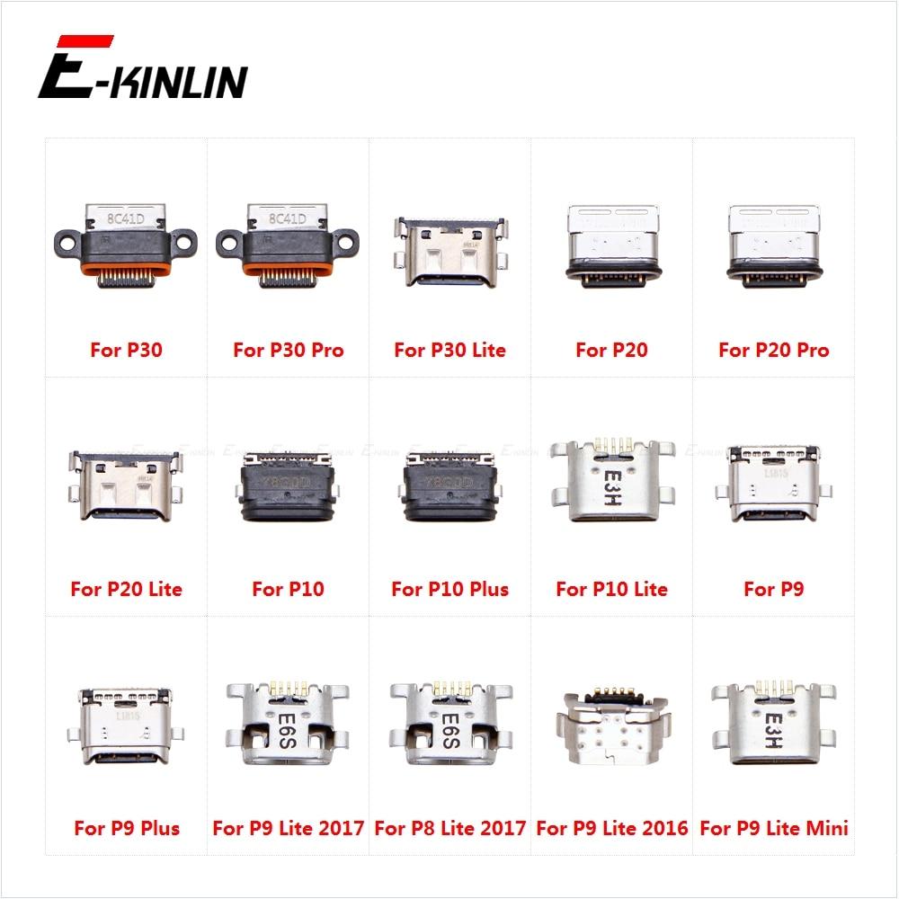 Type-C Charge Charging Plug Dock Micro USB Jack Connector Socket Port For HuaWei P30 20 Pro P10 P9 Plus Lite Mini 2017 2016