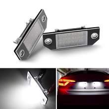 2pcs 24 LEDs Car Number License Plate Light for Ford Focus 2 C-Max Ford Focus MK2 2003 2003 - 2019