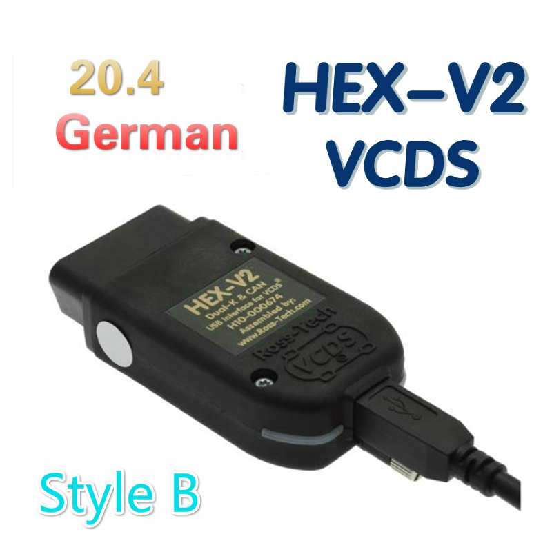Новейшие VCDS HEX V2 USB Интерфейс Vag Com 20.4.2 тестеры для VW AUDI Skoda Seat VAG 20.4.1 английская немецкая полированная версия|Кабели и коннекторы для диагностики авто|   | АлиЭкспресс