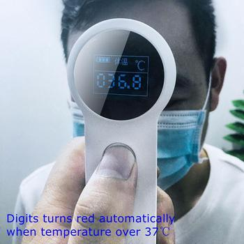 In Stock Electronic Thermometer Infrared Ear Forehead Digital Thermometer with Fever Alarm for Baby Child Adult #4O