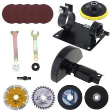 17 unids/set 13mm taladro eléctrico asiento de Corte herramienta de conversión accesorios para moler/cortar azulejos/Pulido de metales