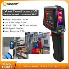 Датчик утечки воды XEAST, инфракрасная тепловизионная камера, стандартное разрешение, детектор утечки подогрева пола с высокой точностью