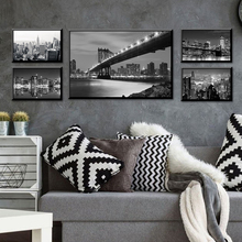HD Printed City Landscape Modern Canvas Painting Poster And Print Wall Pictures For Living Room Decor Home