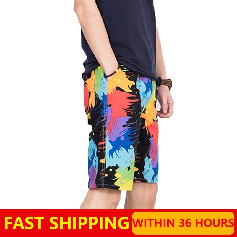 Hot Sell Summer Pants Quick Dry Men's Board Shorts Print Beach Sports Pant Casual Fashion Swimming Shorts Oversized Men Clothing 1