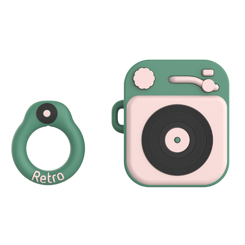 For Airpods 1 Cute Cartoon Earphone Case Cover Soft Silicone Slim Earphone Cover For Airpods 2 Case Bag Protective Strap Cases