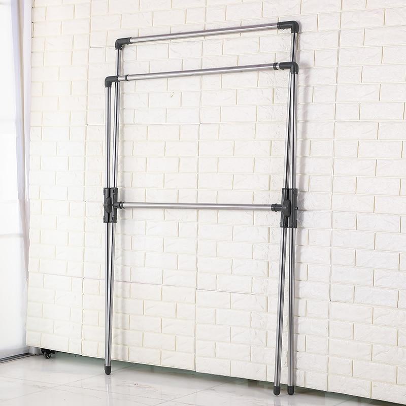 Wasserij X Vorm Vouw Kleding Quilt Opknoping Droogrek Draagbare Passen Droger Hanger Airer Stand Rack voor Indoor Outdoor DQJ007 - 5