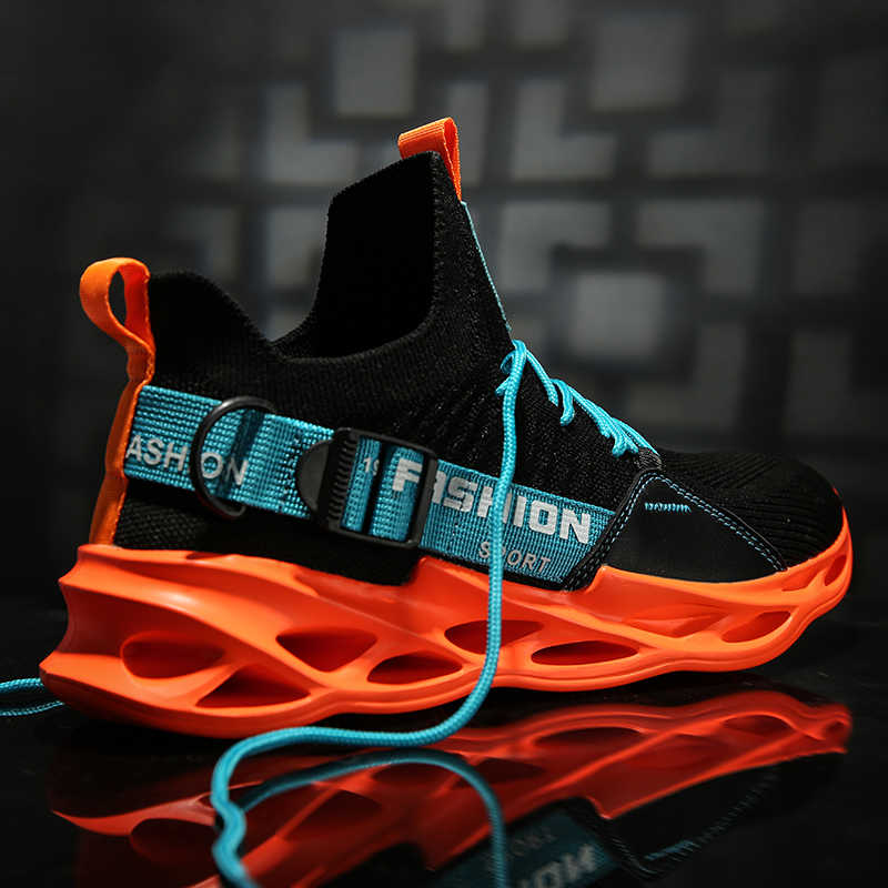 Mannen Sneakers Zwart Mesh Ademend Running Sport Schoenen Man Lace Up Antislip Mannen Lage Atletische Sneakers Casual Heren schoenen