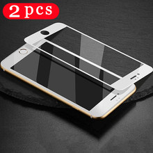 2Pcs for iphone 5 5S SE 5C 6 6s 7 8 plus Tempered glass protective film for iphone 11 pro X XS MAX XR phone screen protector
