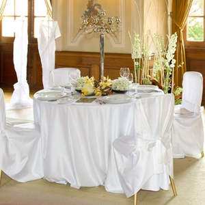 Table-Cloth-Cover Party-Table-Decorations Rectangular Round Wedding-Banqueting for