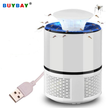 USB электрическая ловушка для комаров, лампа Светодиодный УФ ночной Светильник анти Fly комаровую muggen убийца насекомых Ловушка