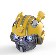 Bumblebee alto-falante bluetooth mini alto-falante sem fio subwoofer transformadores estéreo led piscando luz bt boombox para fm mp3 tf