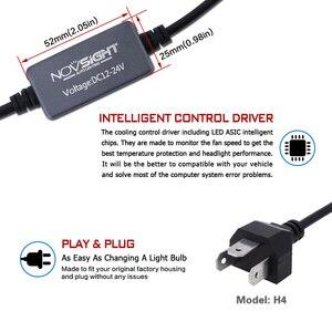 Image 5 - NOVSIGHT H7 LED H4 led H11 HB3 9005 HB4 9006 Car LED Headlight Bulbs 60W 10000LM Automobile Headlamp Fog Lights 12V 24V