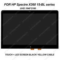New 15.6 4K for HP Spectre X360 15 bl series 15 BL012DX 15 BL075NR screen +touch panel digitizer assembly LED LCD display