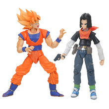 Dragon Ball Z Son Goku super saiyan Son Gokou dragon ball figure NO.17 PVC Action Figure Collection Figurine Toy Brinquedos(China)