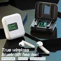 Auriculares estéreo TWS 5,0 Auriculares inalámbricos con Bluetooth, con funda de carga, para xiaomi, iphone, huawei, Pop-ups, PK
