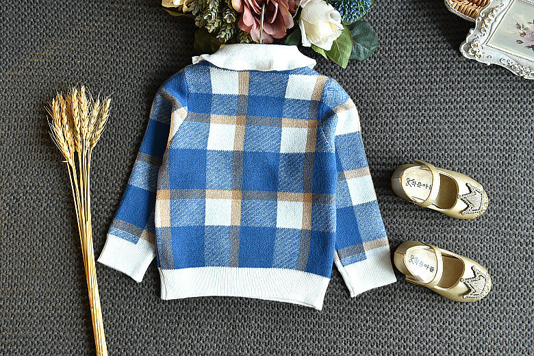 Baby Girls Winter Clothes Set Christmas Outfits Kids Girls Plaid Knit Sweater&skirt Fall Girl Clothing Set Children Costume 14