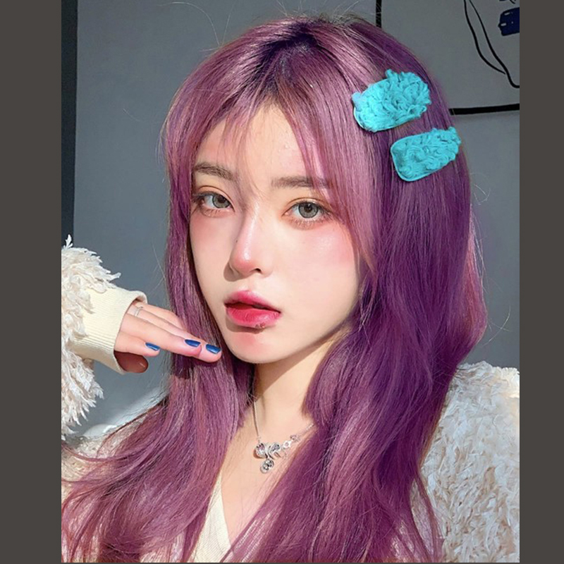 MANWEI Synthetic Wigs With Bangs For Women Long Deep Straight Hair Fashion Cosplay Natural Heat Resistant Inhair Cube Lolita Wig