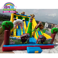 Commercial Grade Bear Bounce House Water Slide Combo Inflatable Bouncer Castle Adult inflatable Jumper(China)